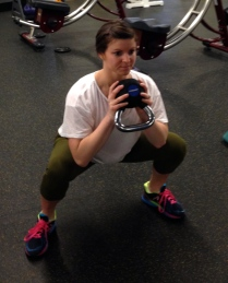 KB goblet squat